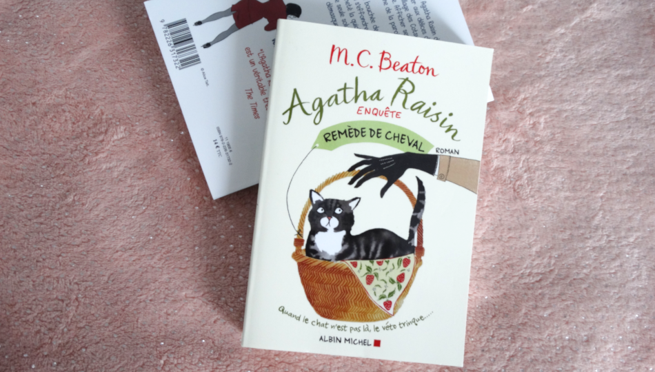 Remède de cheval Agatha Raisin T2 - COTTON CANDY blog lifestyle lecture et maternité